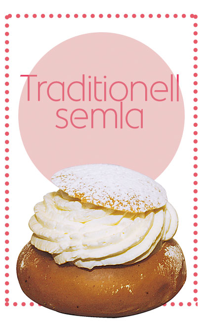 traditionell semla